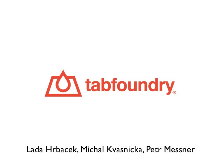 Startup yard 2012 Demo Day - Tabfoundry