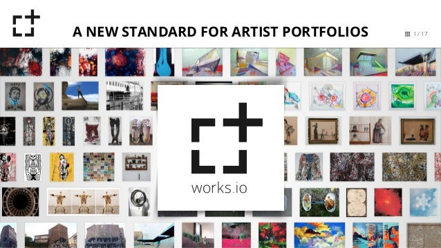 1 / 17A NEW STANDARD FOR ARTIST PORTFOLIOS
