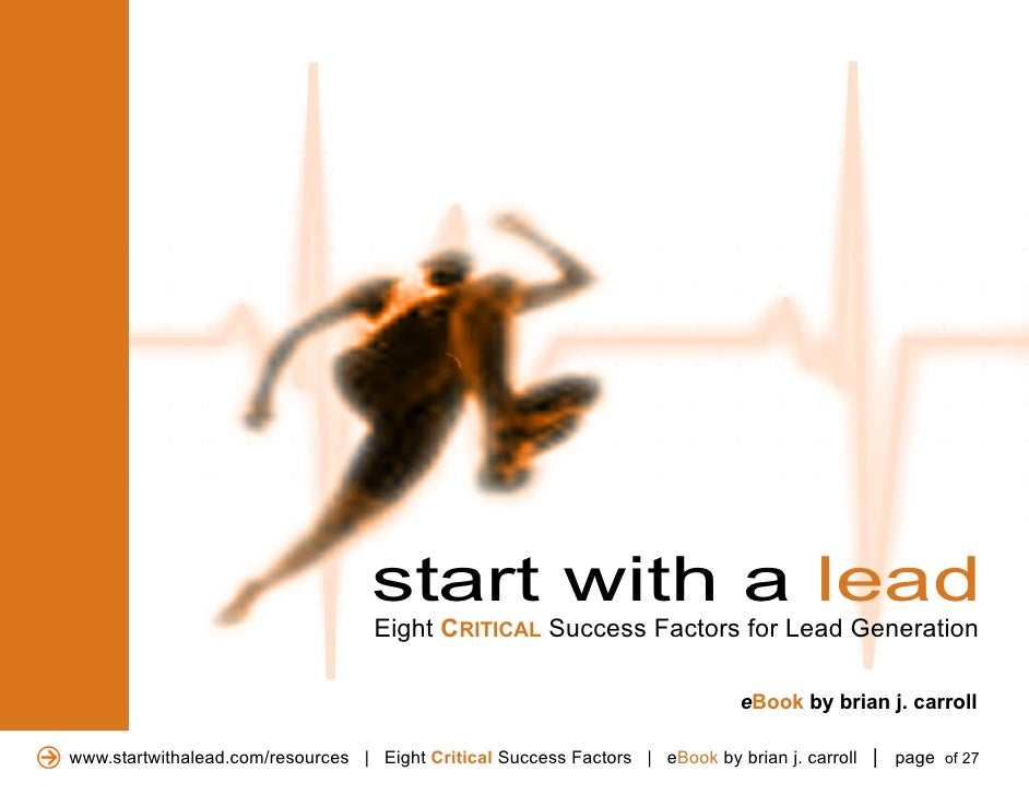 Start witha leadebook