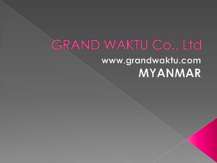 Start your business in myanmar