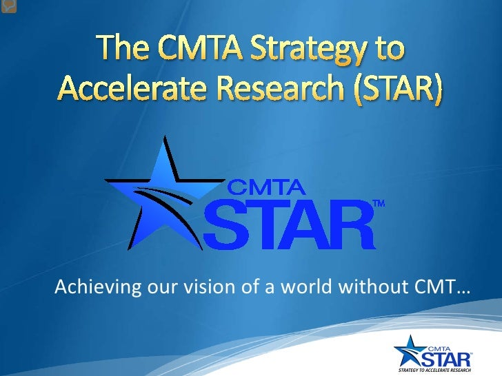 Achieving our vision of a world without CMT…