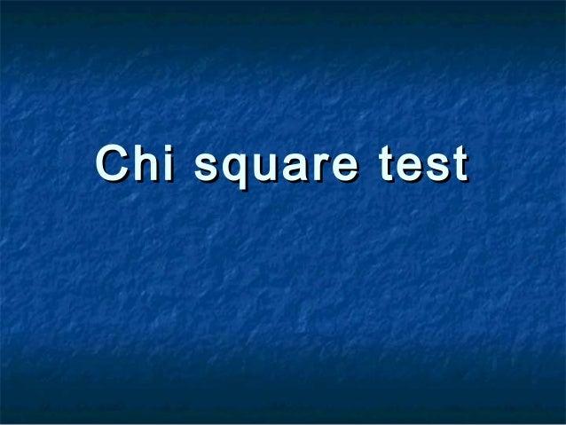 Stat6 chi square test