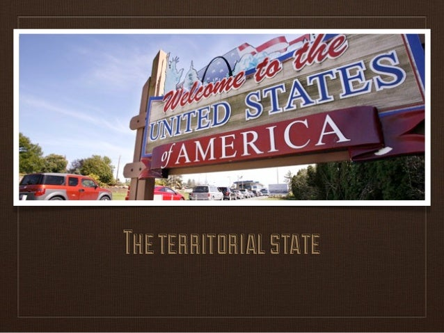 The territorial state