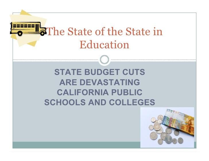 State Budget Cuts