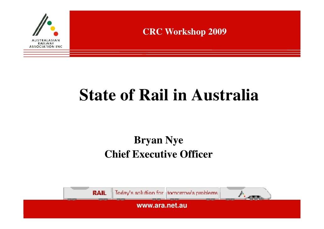 State of Rail in Australia