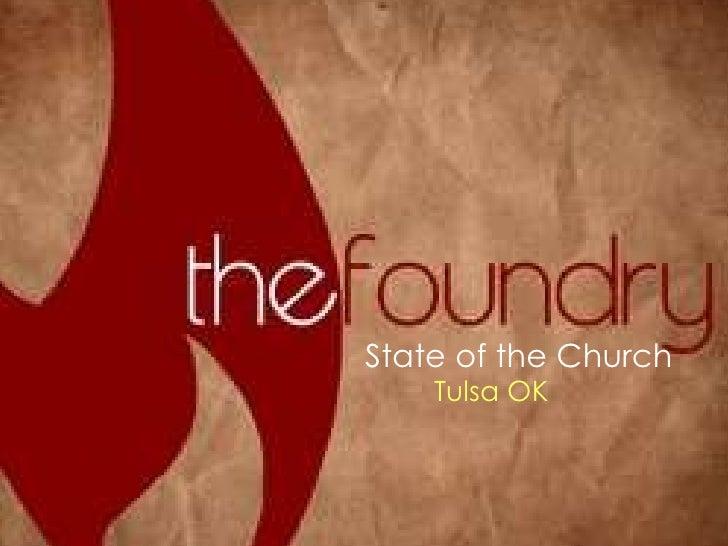State of the Church Tulsa OK