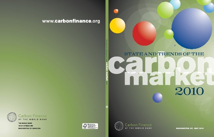 State and Trends of the Carbon Market 2010