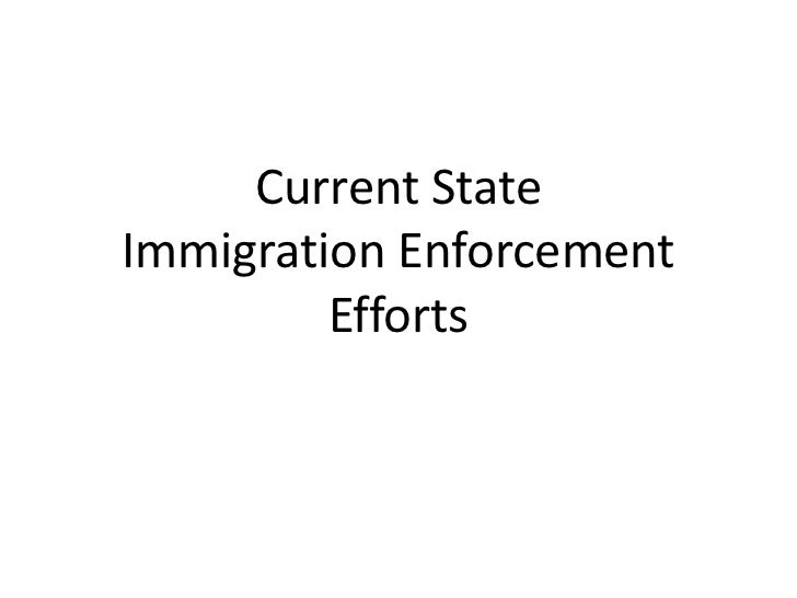 State enforcement