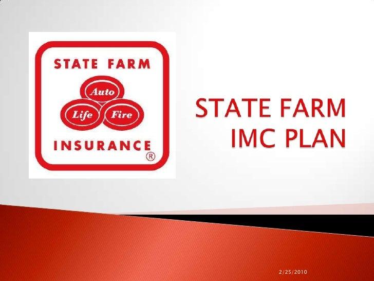 State Farm marketing pitch
