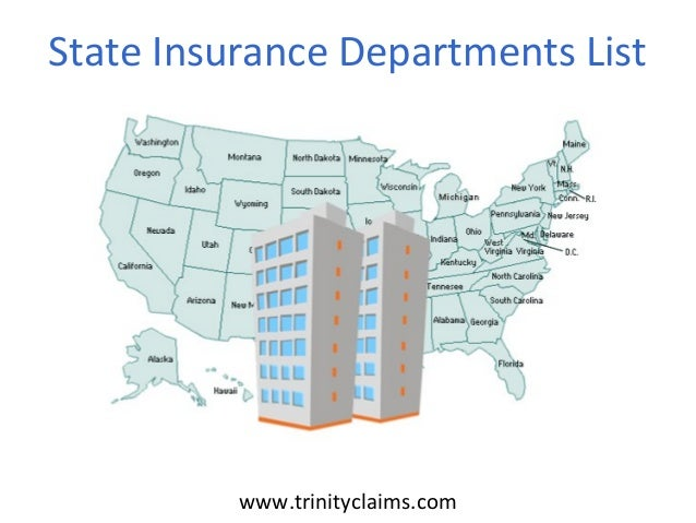 State Insurance Departments List
