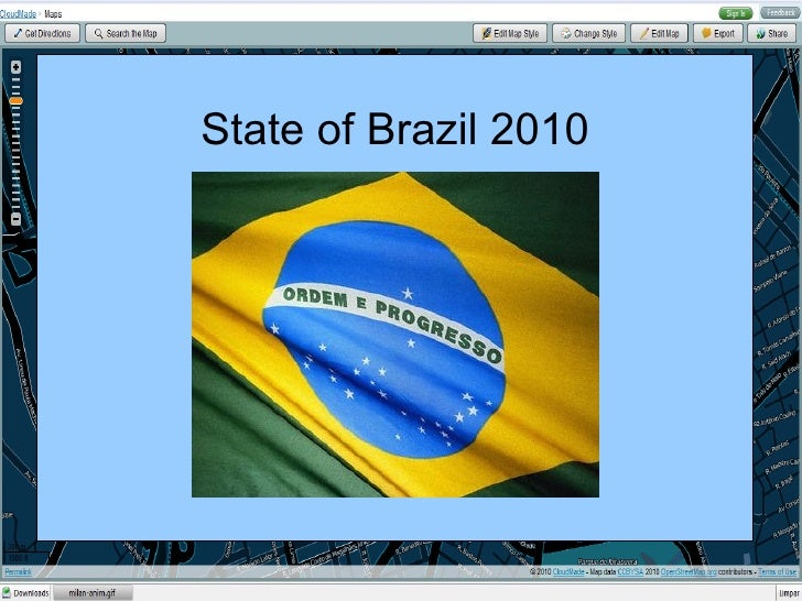 State of Brazil 2010