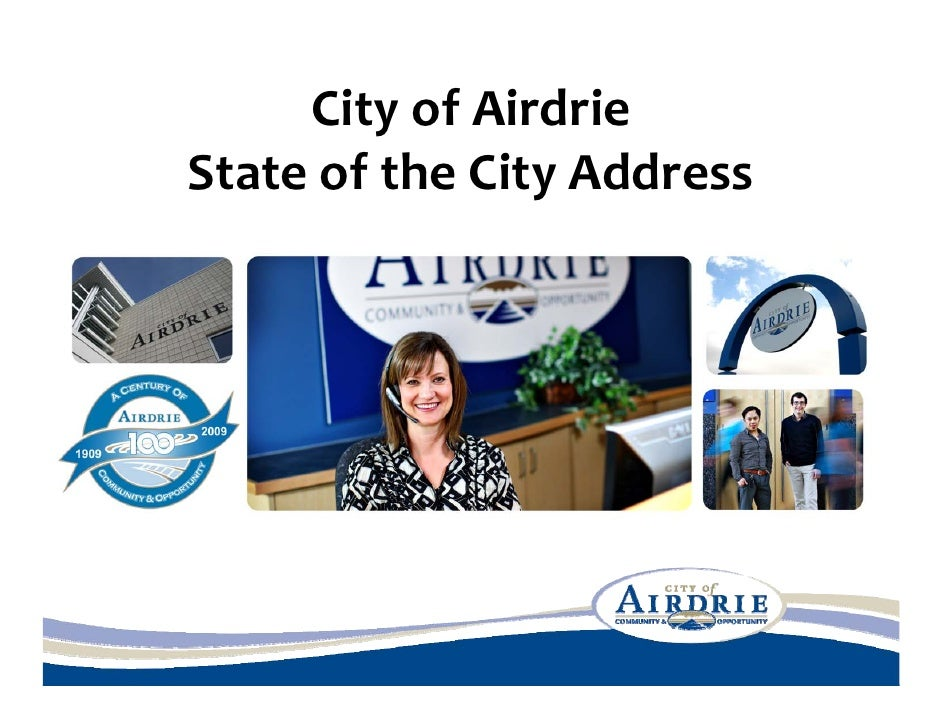 CityofAirdrie StateoftheCityAddress