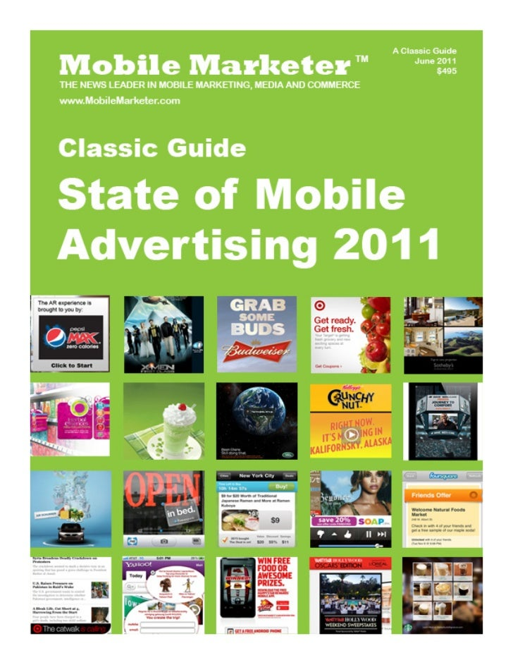 State of Mobile Advertsing 2011 - Mobile Marketer