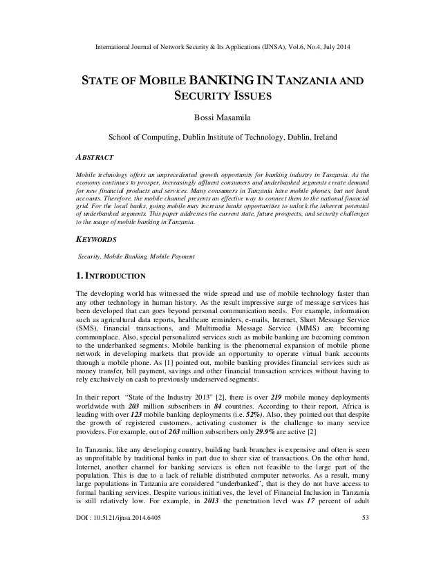International Journal of Network Security & Its Applications (IJNSA), Vol.6, No.4, July 2014 DOI : 10.5121/ijnsa.2014.6405...