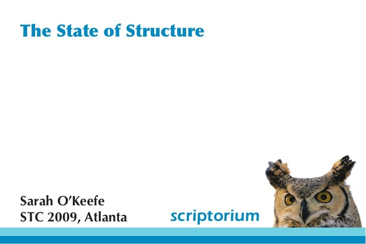 The State of Structure