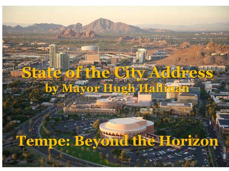 Tempe State of the City Address 2011
