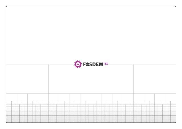 State of the kit (FOSDEM 2013)