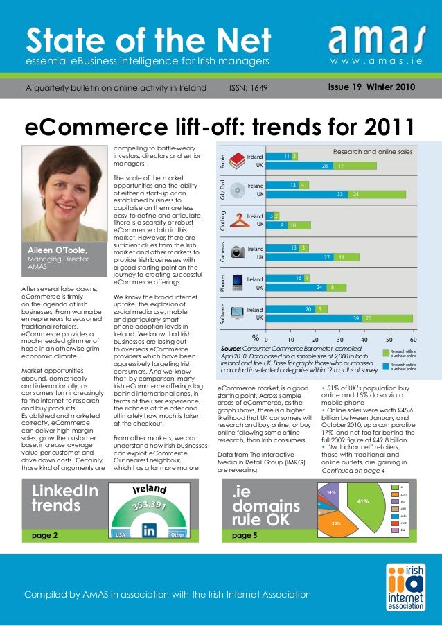 State of the Netessential eBusiness intelligence for Irish managers A quarterly bulletin on online activity in Ireland    ...