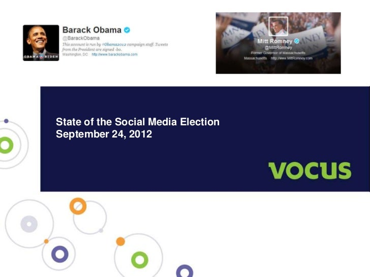 State of the Social Media Election; 24SEP12