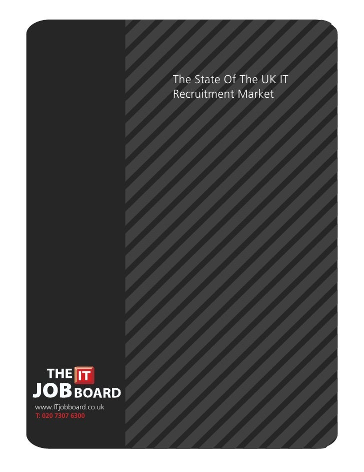 State Of The Uk Recruitment Market   The It Job Board