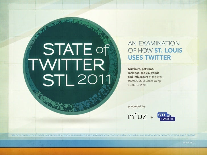 The State of Twitter: STL 2011
