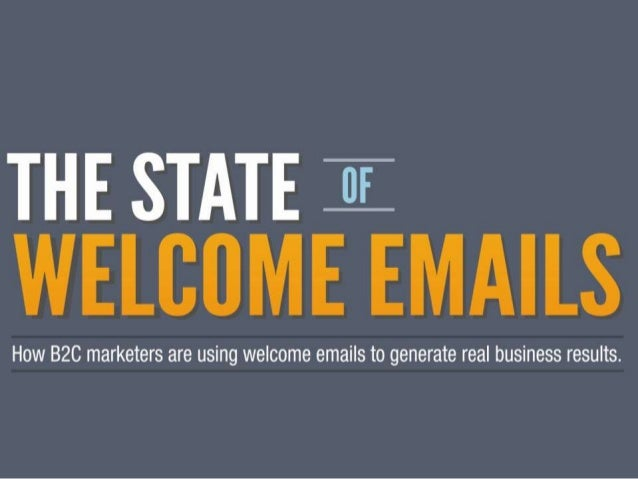 The State of Welcome Emails - 160 B2C Brands