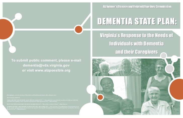 Alzheimer's Disease and Related Disorders Commission                                                                      ...