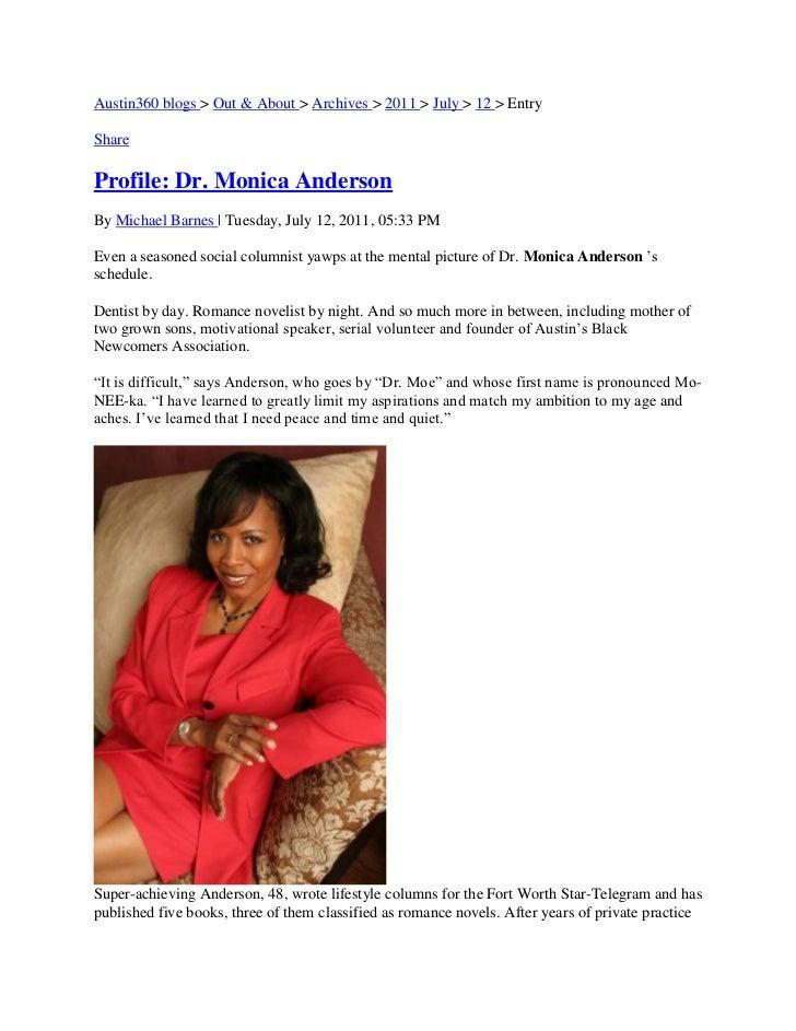 Austin-American Statesman Profile of Dr. mOe
