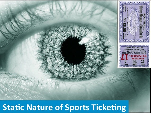 Sta$c  Nature  of  Sports  Ticke$ng    1