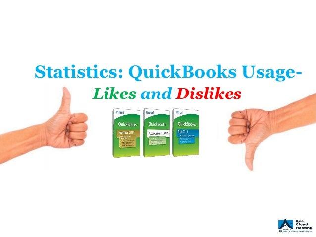 Statistics: QuickBooks Usage Likes and Dislikes