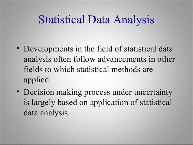 statistical project This is an example of a logical step on a statistical investigation a group of students as research team came up with a problem statement, did data gathering.