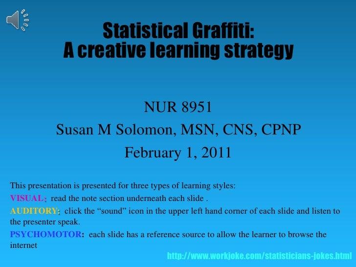 Statistical graffiti   presentation