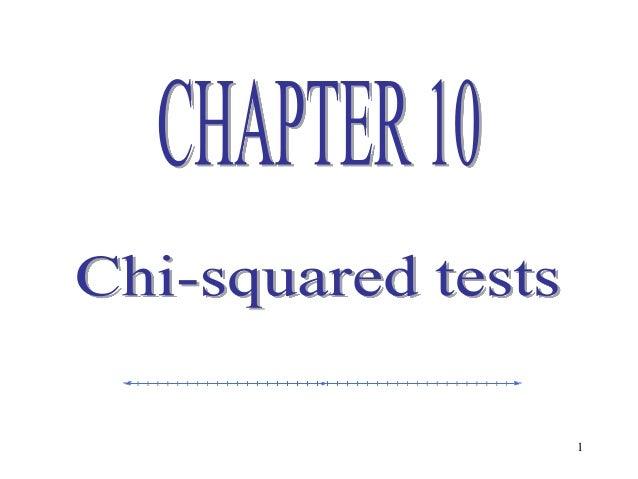 Statistics lecture 10(ch10)