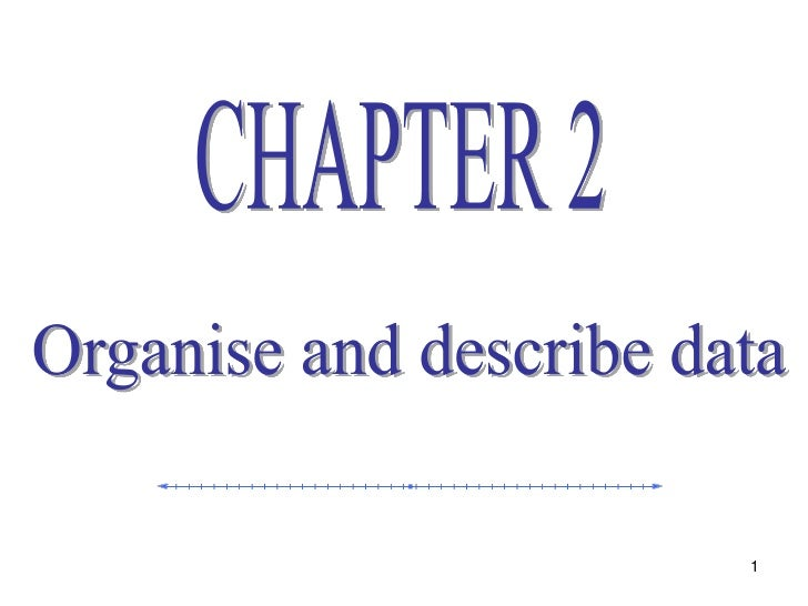 Statistics lecture 3 (ch2)