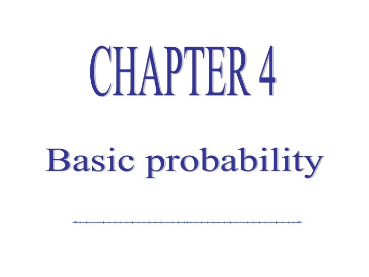  What is probability?   Probability is a numerical value used to    express the chance that a specific event    will occ...