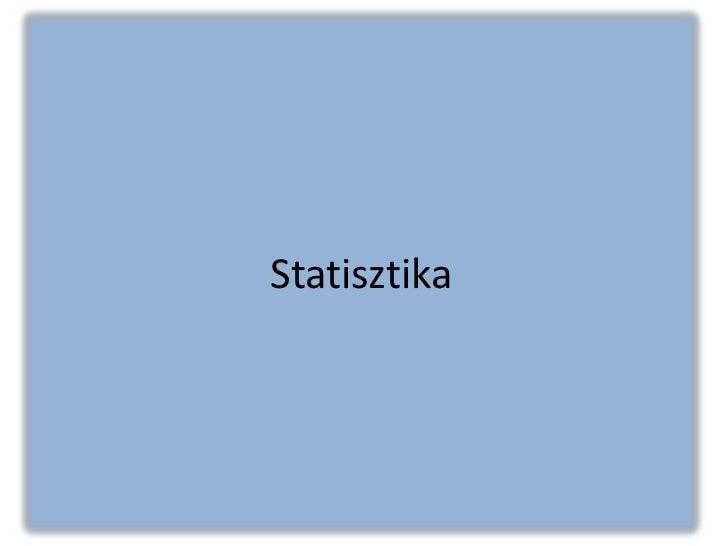 Rónakyné prez. Statisztika