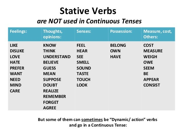 stative verb and action verb essay Stative verbs sorting worksheet - read more about stative, verbs, worksheet, progressive, sorting and eslflow.