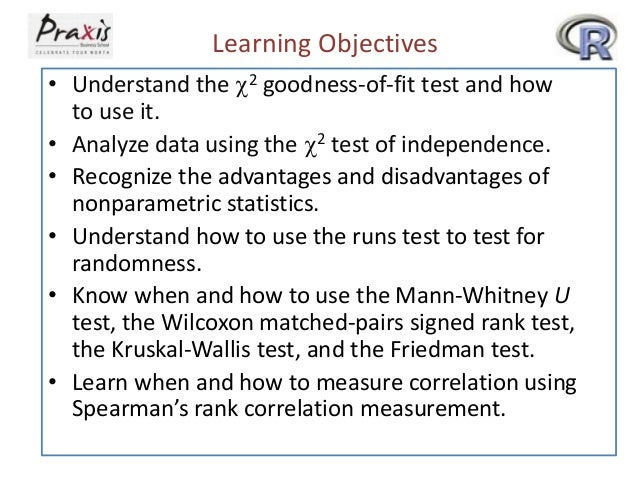 Learning Objectives • Understand the 2 goodness-of-fit test and how to use it. • Analyze data using the 2 test of indepe...