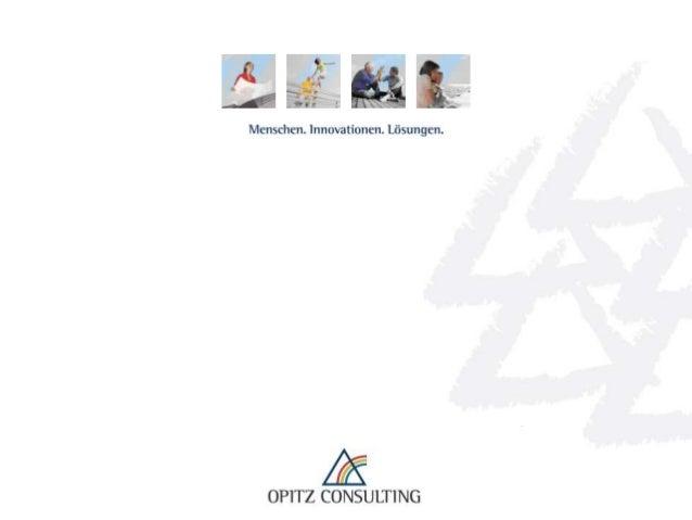 Statspack, OWB und APEX - ein starkes Drillingspärchen   © OPITZ CONSULTING GmbH 2012   Seite 1