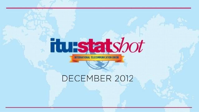 Statshot december 2012