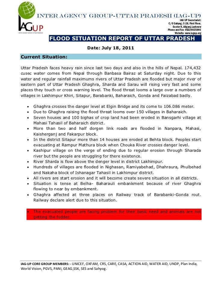 Inter agency group-uttar pradesh (iag-up)                                                                                 ...