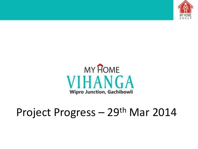 Status report of my home vihnaga as on 29.03.2014