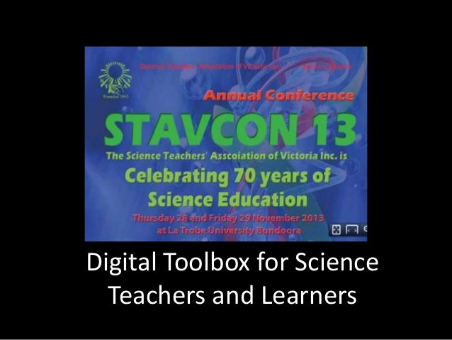 Digital Toolbox for Science Teaching and Learning
