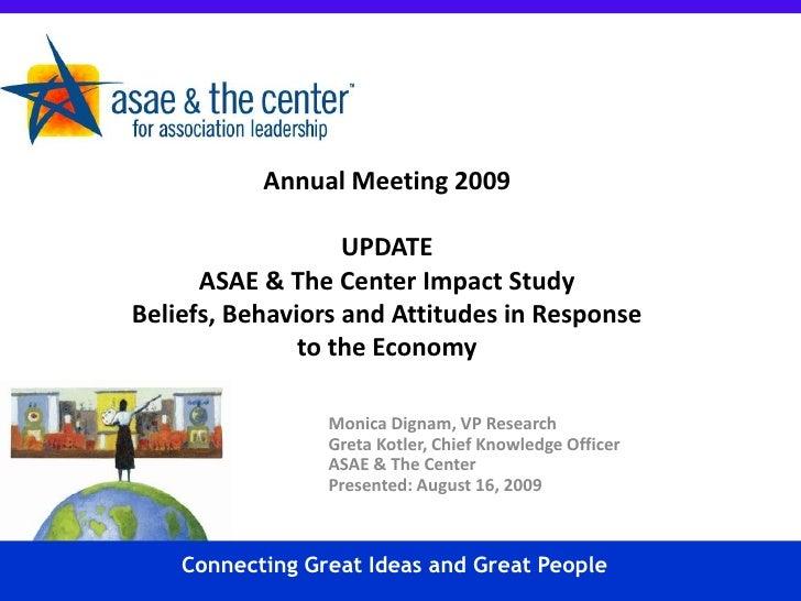 Stay Ahead Of The Curve With Asae & The Centers Latest Research