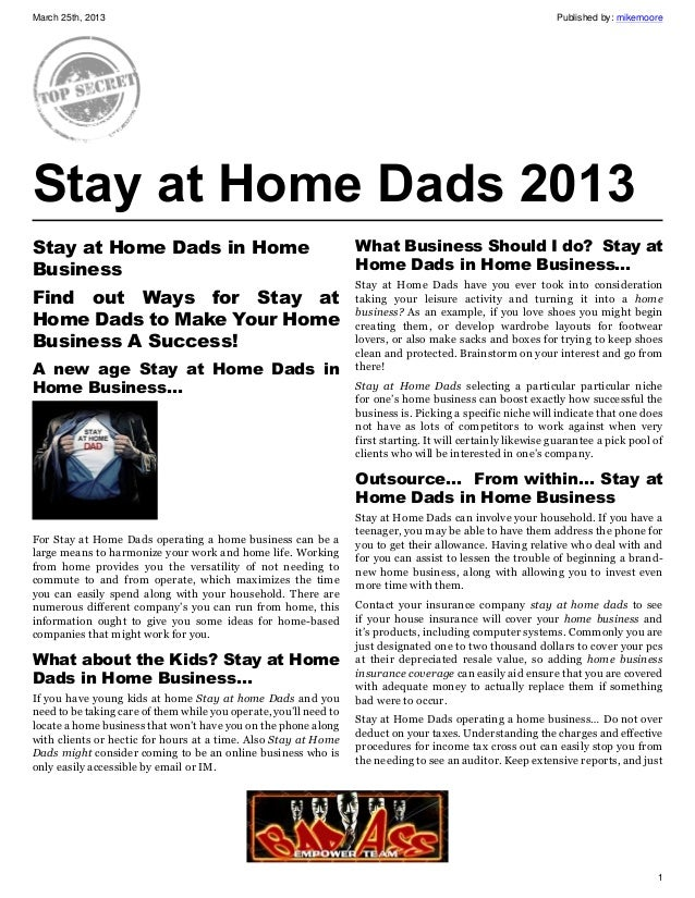 March 25th, 2013                                                                                              Published by...
