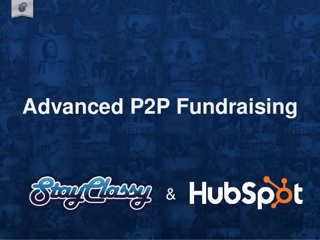 Advanced P2P Fundraising &