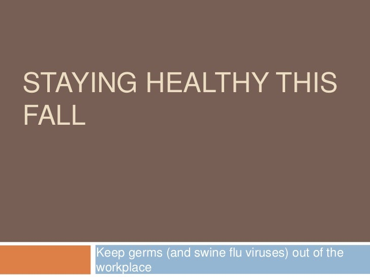 Staying healthy this fall Tips from Adaptive Marketing