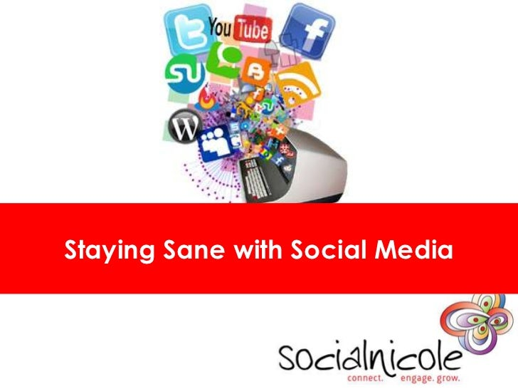 Staying Sane With Social Media for Individuals
