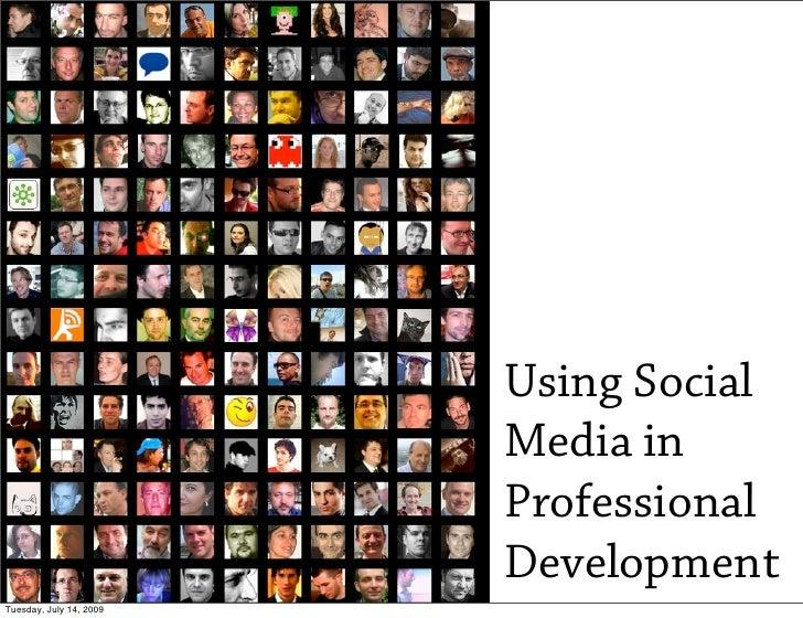 Using Social Media in Professional Development