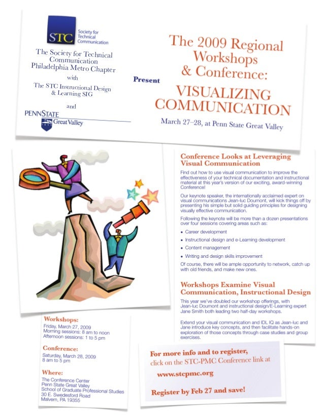 Conference Looks at LeveragingVisual CommunicationFind out how to use visual communication to improve theeffectiveness of ...